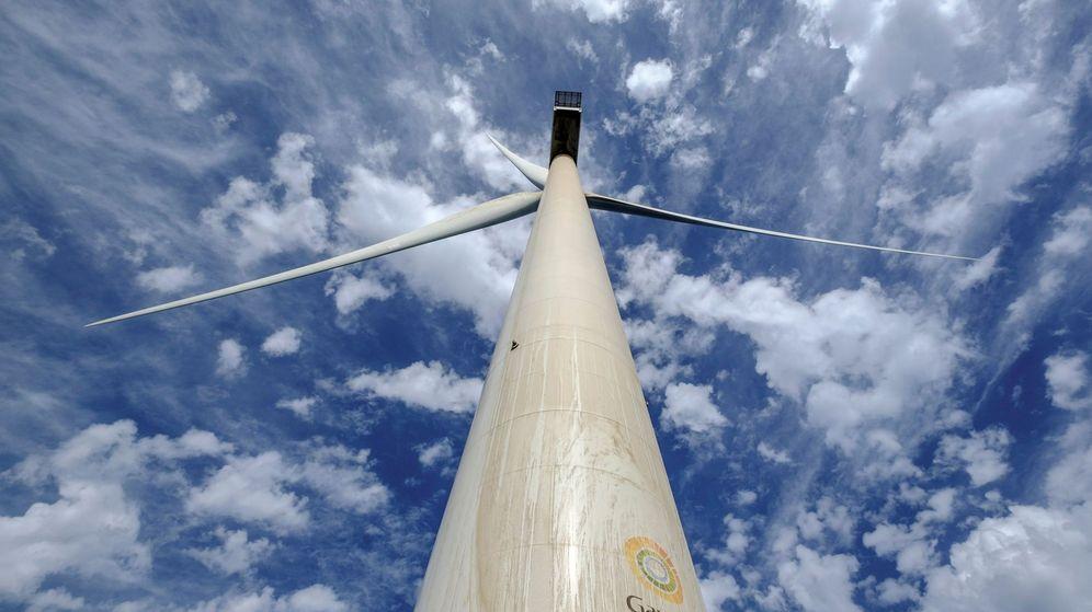 Foto: Foto de recurso de un aerogenerador. (EFE)