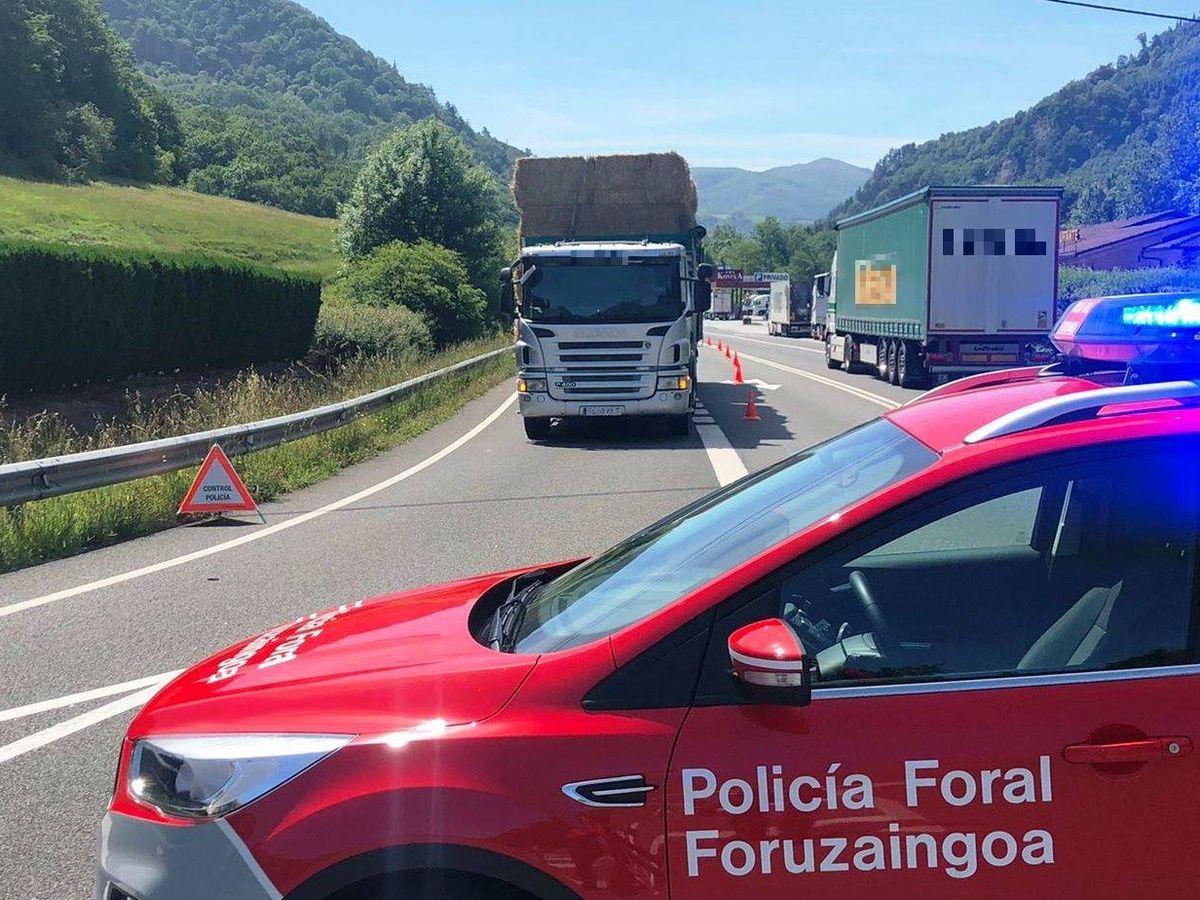 Foto: Foto: Policía Foral