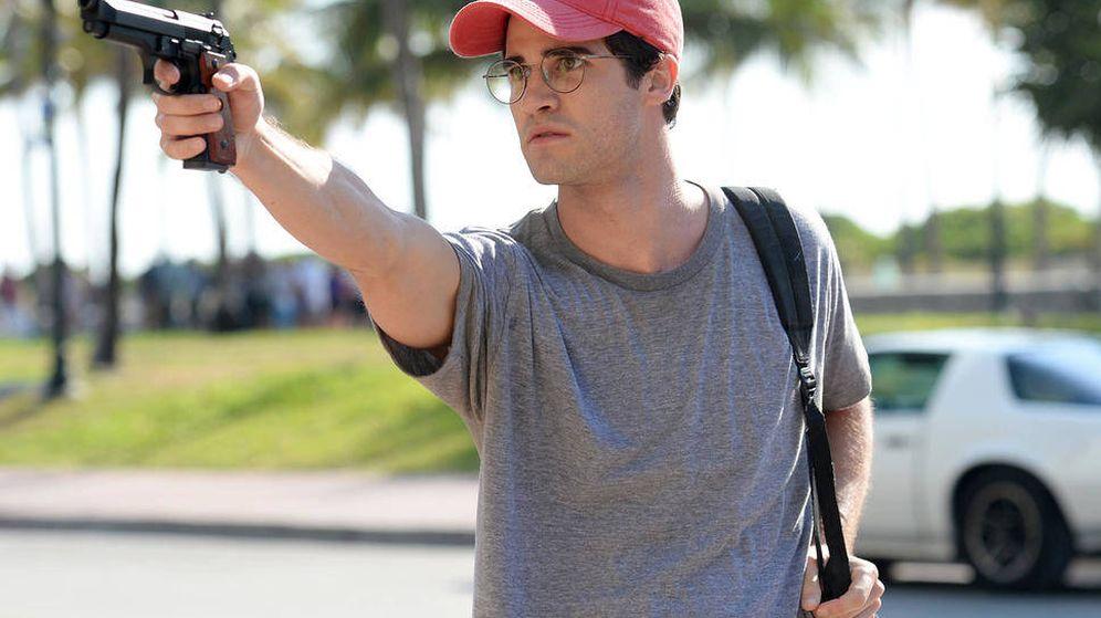Foto: Darren Criss como Andrew Cunanan en 'El asesinato de Gianni Versace'. (Jeff Daly/FX)