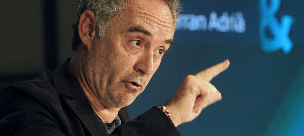 Foto: Ferran Adrià. (EFE)