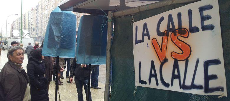 Foto: Gamonal consigue paralizar las obras del bulevar