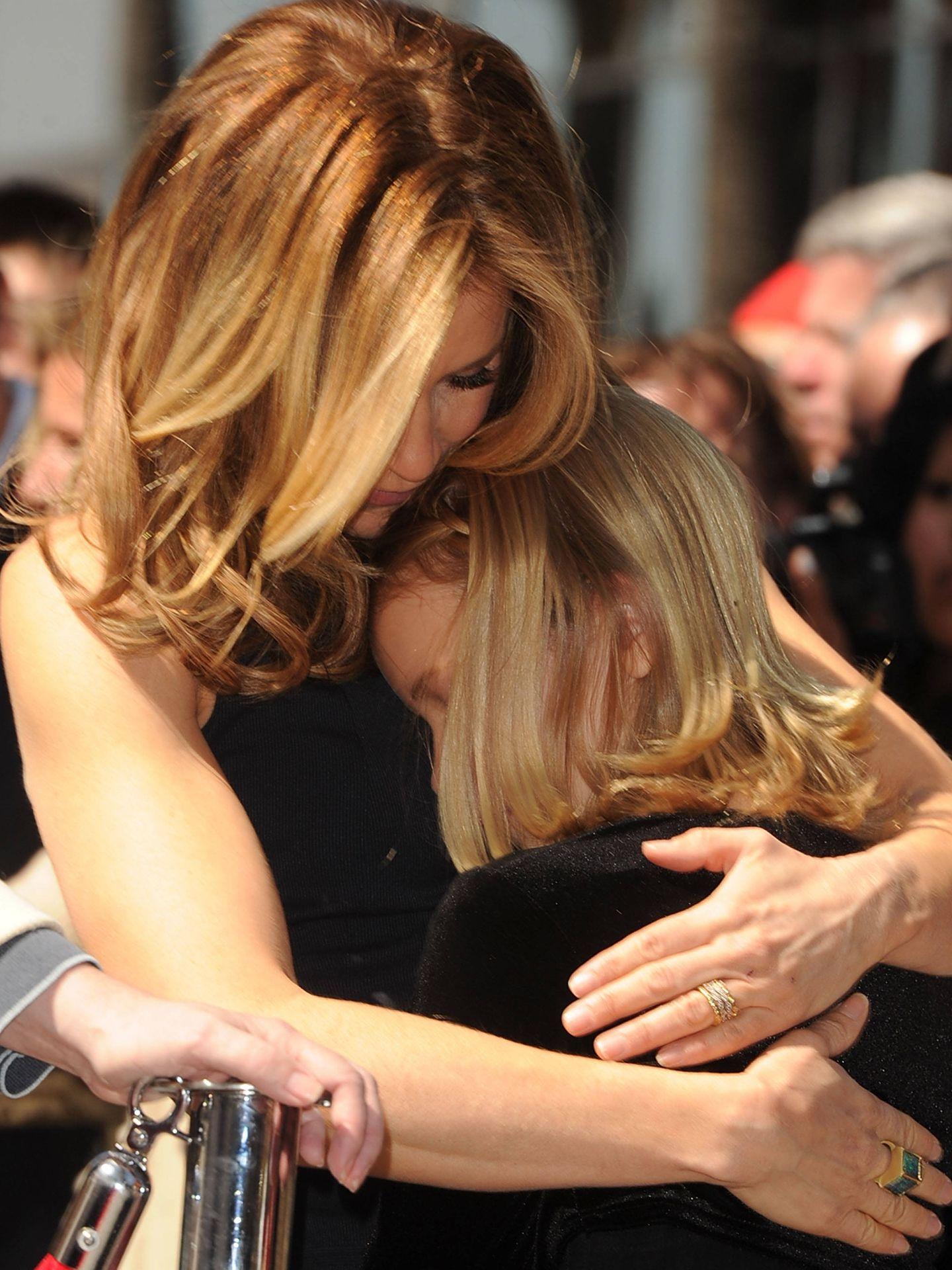 Huffman y su hija Sophia, en una foto de archivo. (Getty)