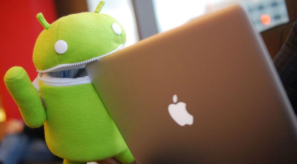 Foto: iPhone para los ricos... ¿y Android para la clase obrera?