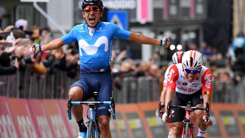 Mikel Landa se lo pone más difícil mientras Movistar logra su primera victoria en el Giro