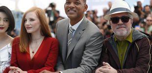 Post de Almodóvar y Will Smith chocan en Cannes por culpa de Netflix