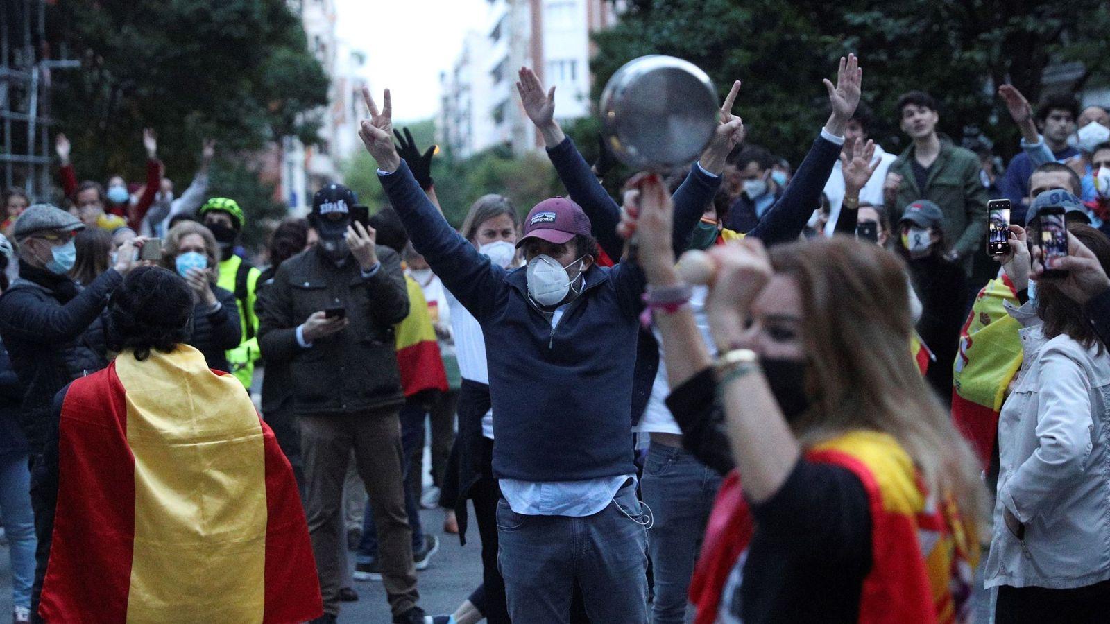 PP y Vox defienden las protestas en Madrid y Podemos pide actuar ante el  ridículo