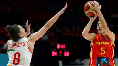 La campeona empieza con mal pie: España paga la falta de acierto con Bielorrusia (53-51)
