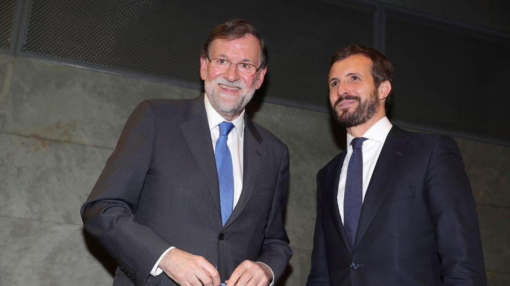 La vieja guardia del PP, sus ministros y Casado (sin Cayetana) homenajean a Rajoy