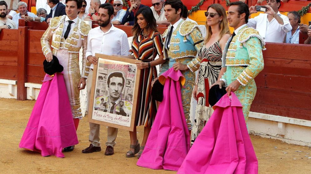 Foto: Dámaso Jr, en el homenaje a su padre. (Getty)