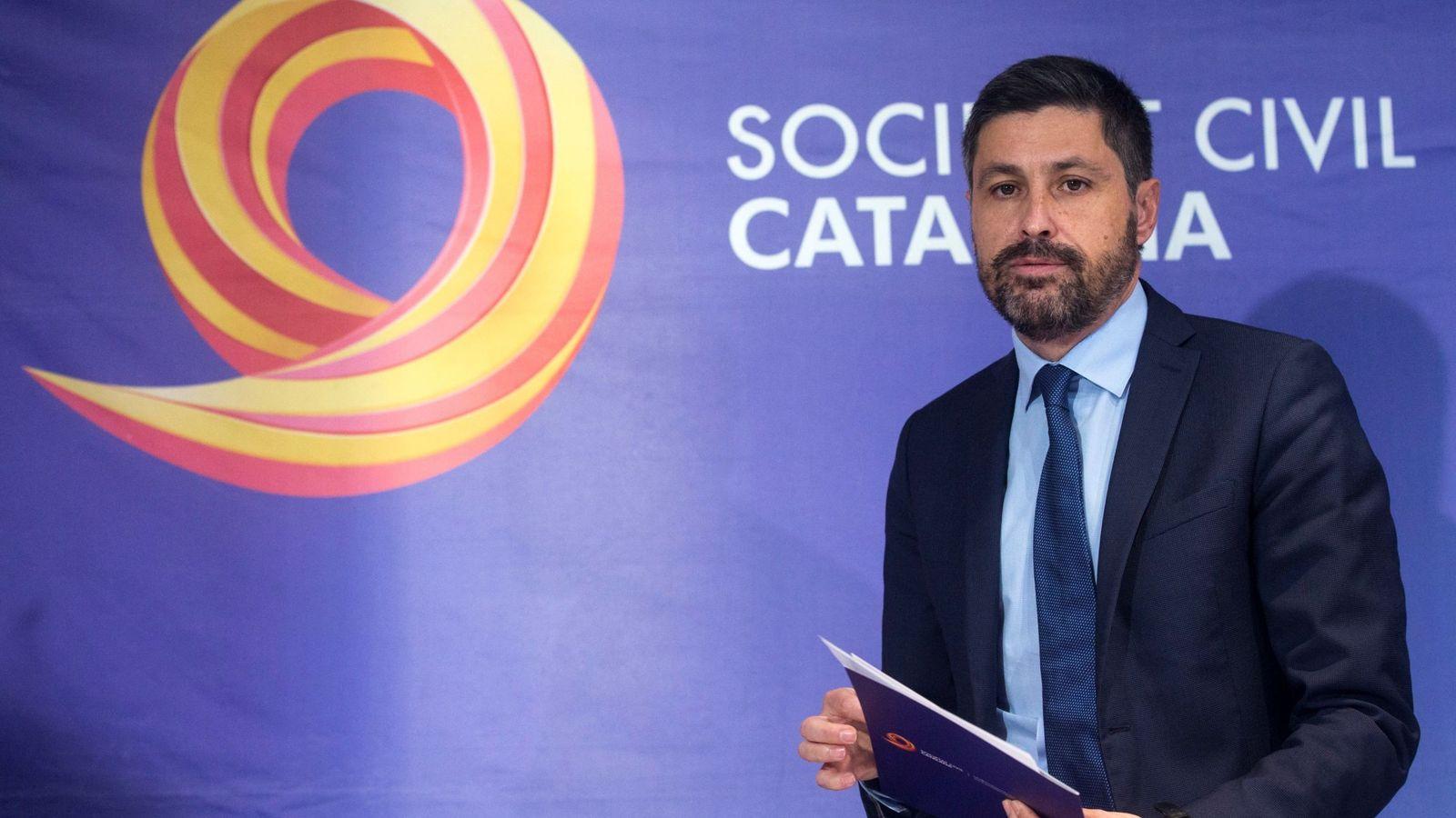 Foto: El ya expresidente de Sociedad Civil Catalana (SCC) José Rosiñol. (EFE)