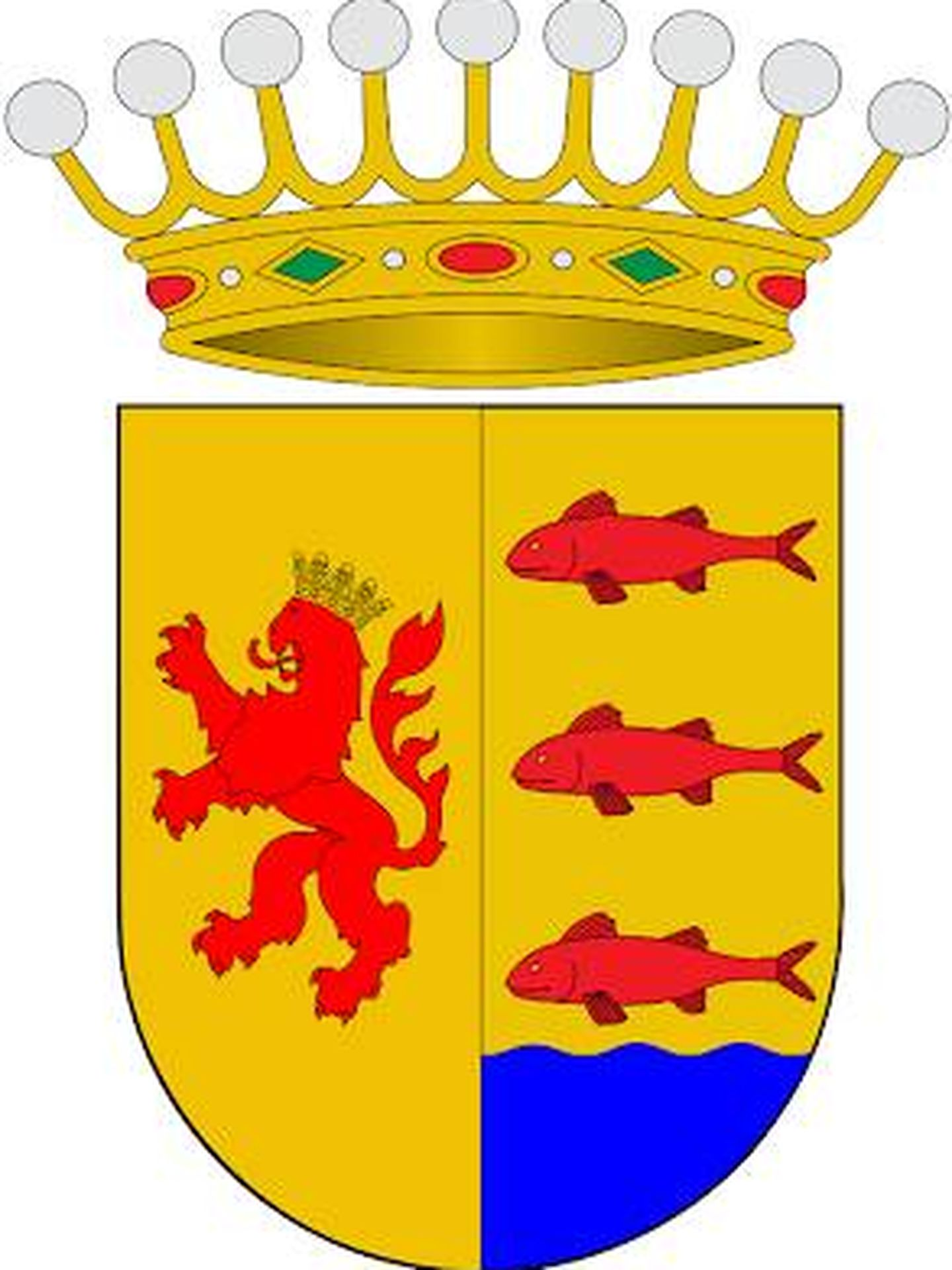 Heráldica del título del condado de Areny.