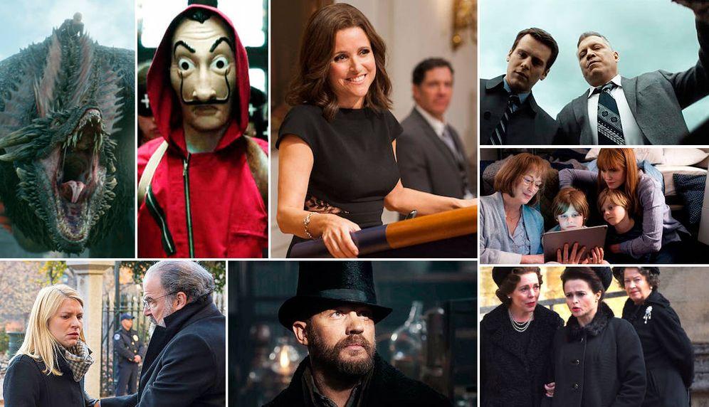 Foto: Algunas series que vuelven en 2019.