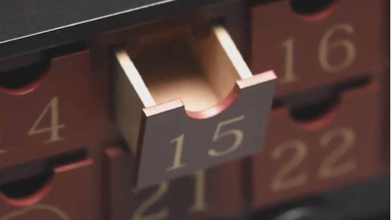 Calendario de Adviento de Harry Potter, de Primark. (Cortesía)