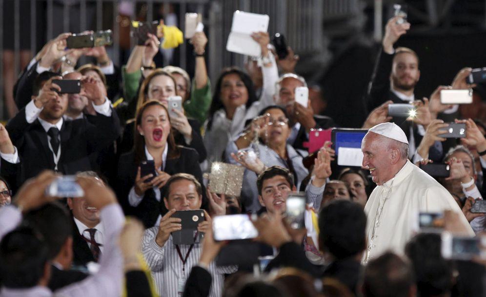 Foto: El Papa, a su llegada al aeropuerto de Ciudad Juárez, en México, el 17 de febrero de 2016. (Reuters)