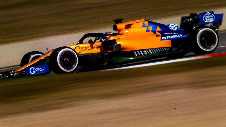 Carlos Sainz dio 119 vueltas este lunes a Montmeló. (EFE)