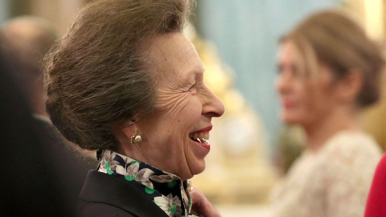 La princesa Ana, en un acto reciente en Buckingham. (EFE)
