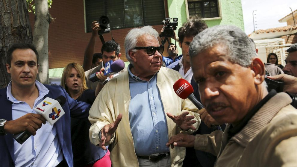 Felipe González abandona Venezuela tras no poder visitar a los presos