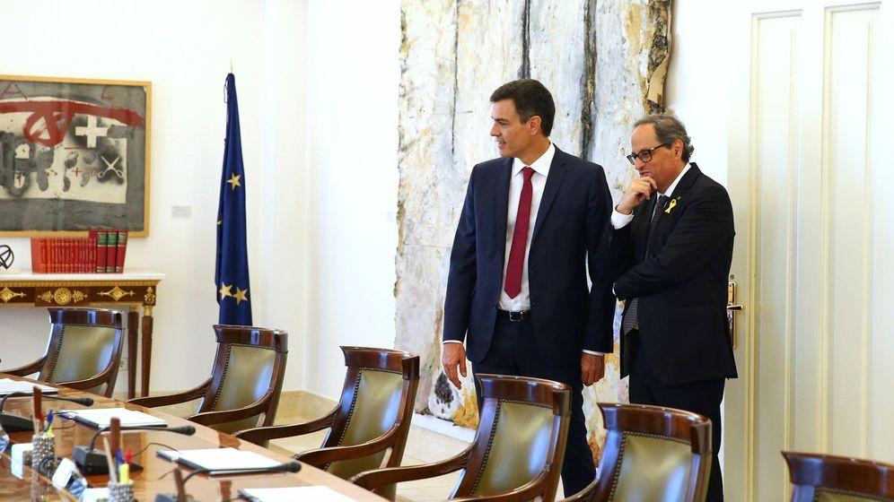 Foto: Torra invita por carta a Sánchez a una reunión sobre la autodeterminación. (EFE)