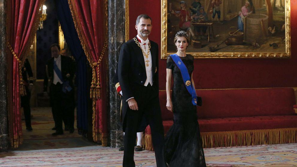 Don Felipe y Doña Letizia, primera cena de gala europea