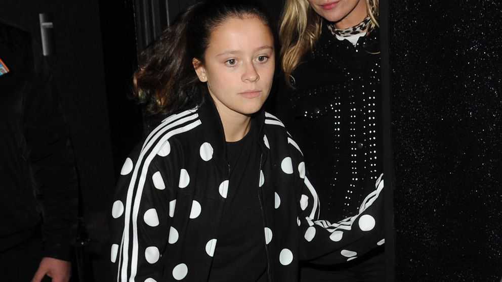 Lila Grace, hija de Kate Moss, protagoniza con 13 años su primera portada de Vogue