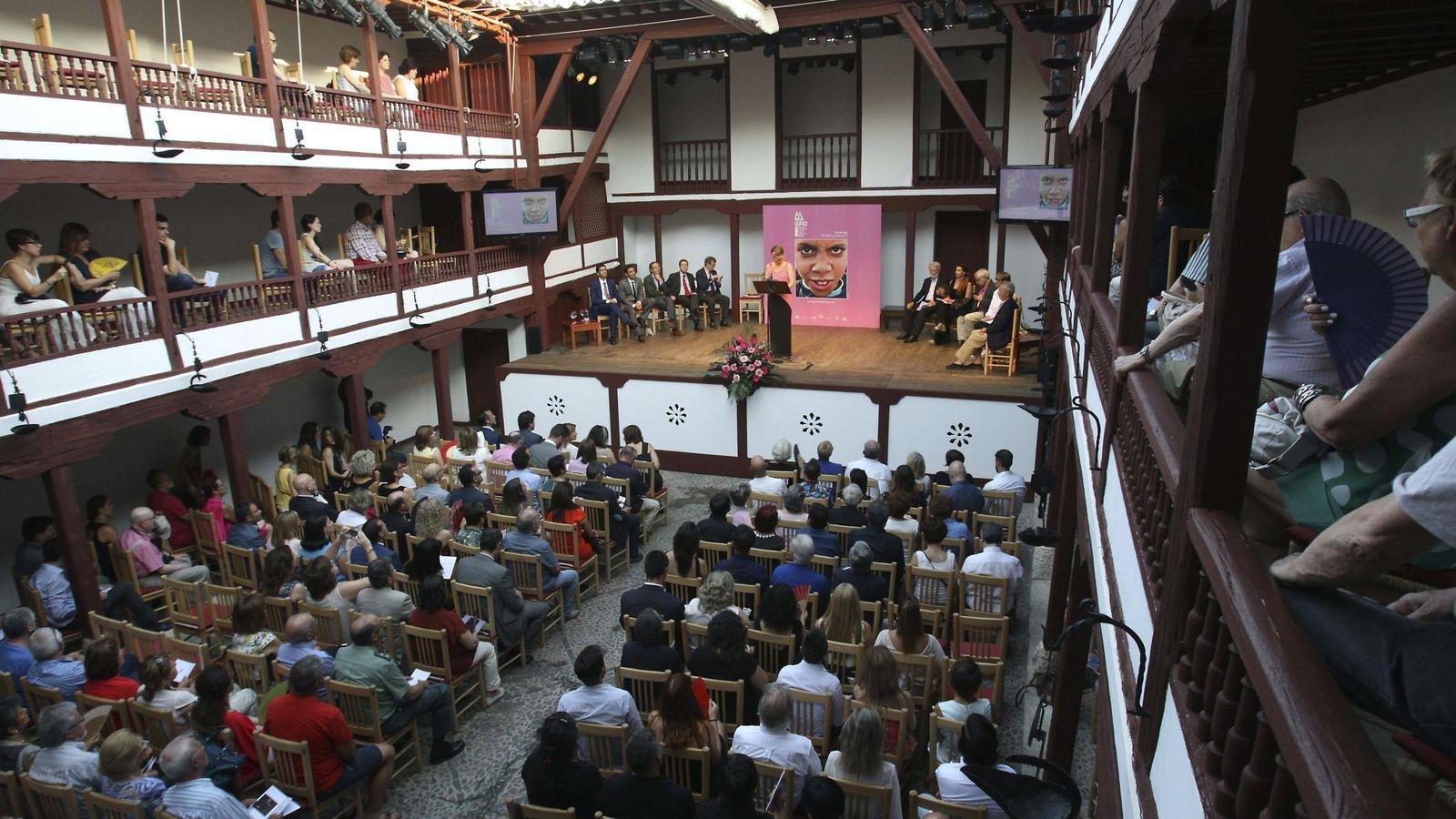 Foto: Imagen del Corral de Comedias durante el festival el año pasado (Efe)