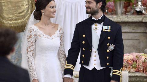 Carlos Felipe y Sofía Hellqvist se dan el 'sí, quiero'