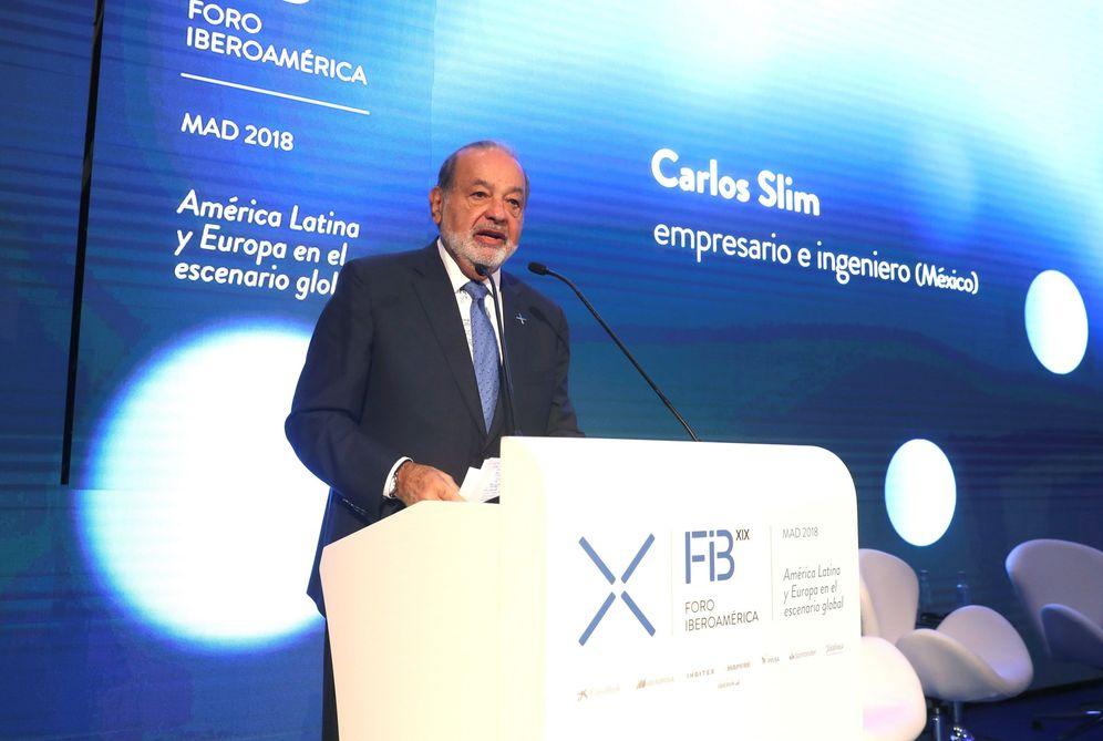 Foto: Carlos Slim es el principal accionista de FCC.