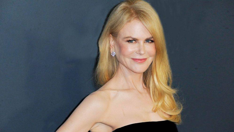 Foto: Nicole Kidman, con su cabello lacio habitual (Getty)