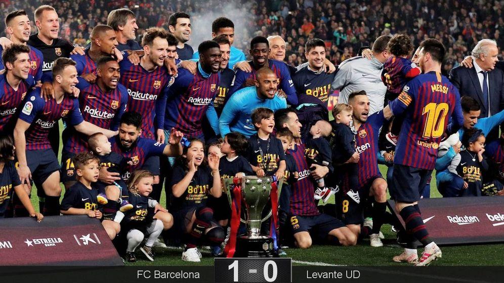 Foto: El FC Barcelona gana la Liga: las mejores imágenes de la celebración