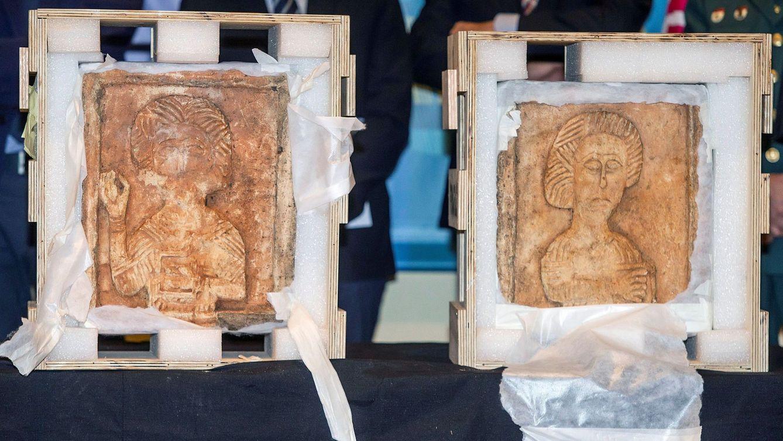 Foto: Recuperados dos relieves visigodos del siglo VII