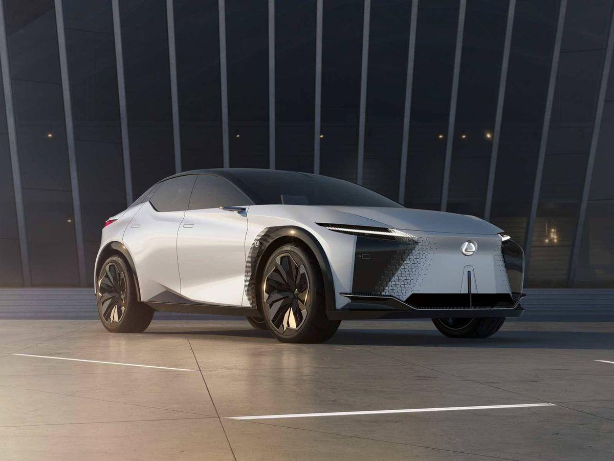 Foto: Drástica evolución de diseño de los Lexus actuales al LF-Z Electrified.