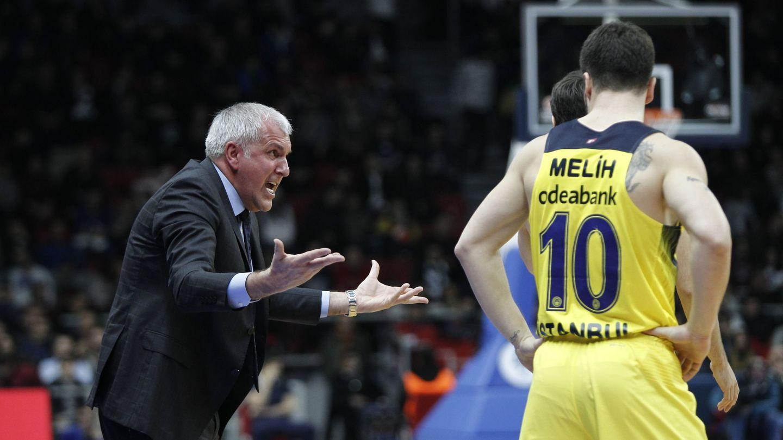 El Fenerbahçe, dirigido por Obradovic, es el único equipo turco que ha llegado a la Final Four en 15 años (Cem Turkel/EFE-EPA)