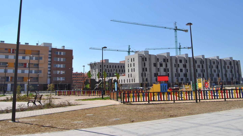 Desarrollo urbanístico de Los Molinos, en Getafe