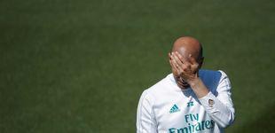 Post de La frustración de Zidane por no saber qué hizo tan mal para 'tirar' la Liga