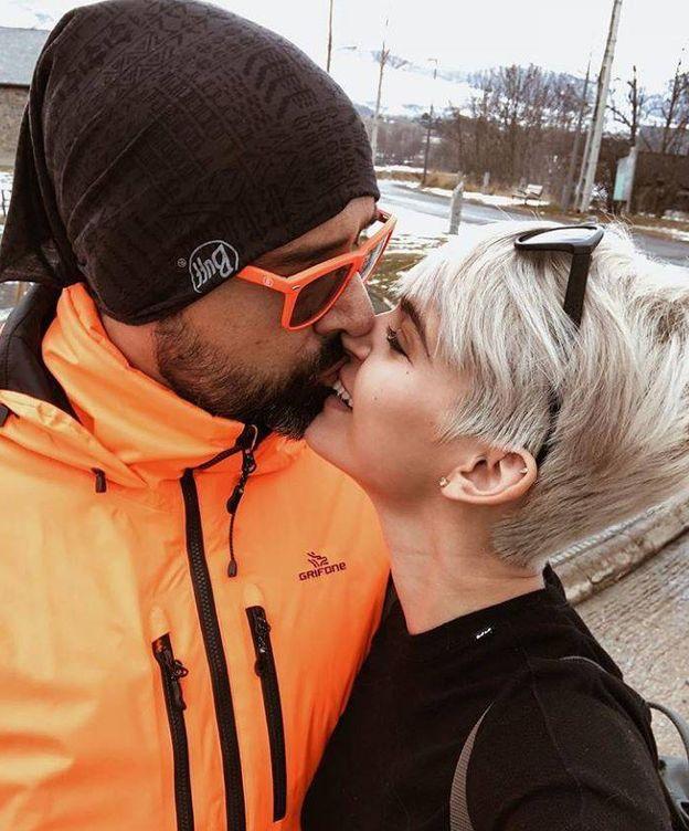 Foto: Risto Mejide y Laura Escanes durante sus vacaciones. (Instagram)