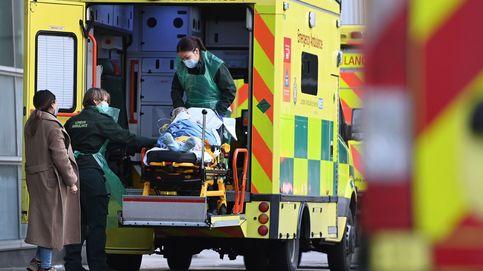 Reino Unido registra más de mil muertos por primera vez desde abril
