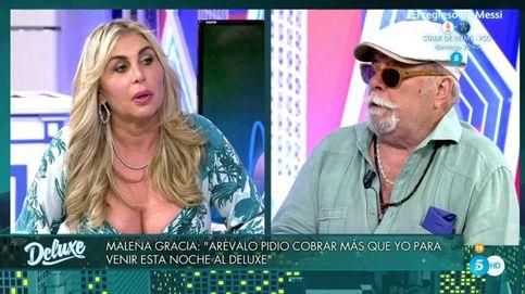 'Deluxe': Malena Gracia llama machista a Arévalo y este desvela el motivo de la ruptura