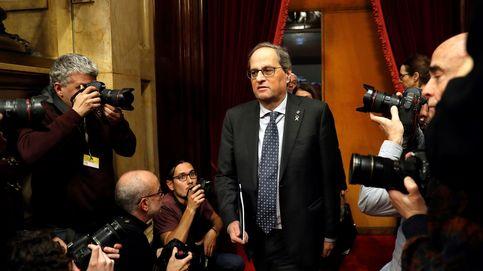 Anuncio institucional de Torra en plena crisis con ERC