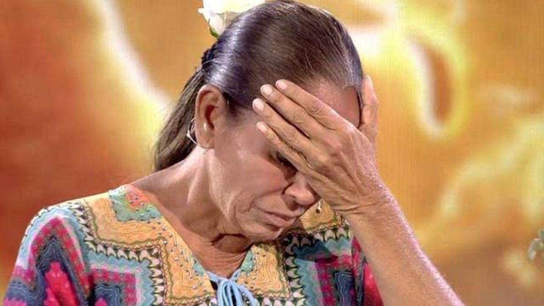 Isabel Pantoja, en Telecinco. (Mediaset)