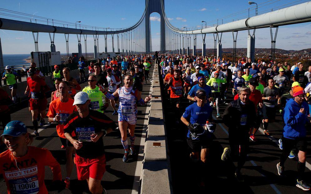 Foto: Imagen de la maratón de Nueva York de 2016. (Reuters)