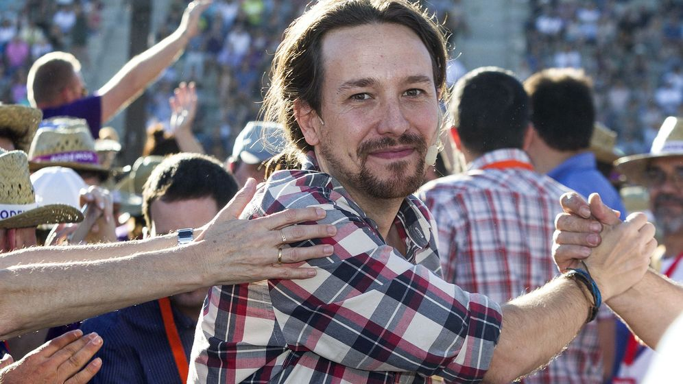 Foto: Pablo Iglesias en un acto de campaña en Palma de Mallorca. (EFE)