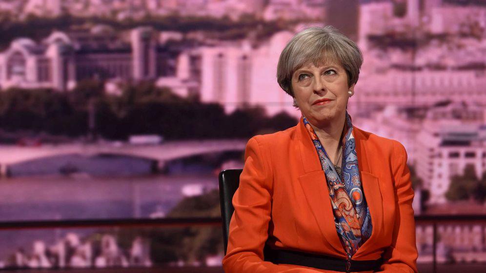Foto: La primera ministra británica Theresa May, en la entrevista que ofreció esta mañana en la BBC. (Reuters)