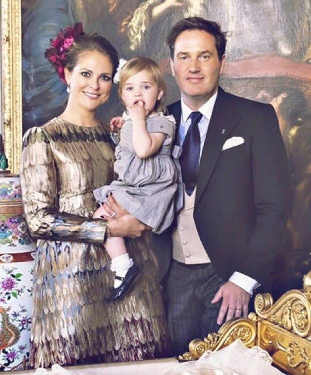 Foto: Foto oficial del bautizo del príncipe Nicolás (Facebook)