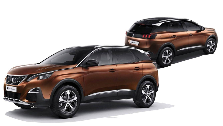 Foto: Imagen del Peugeot 3008.