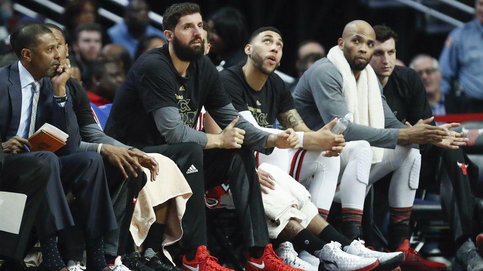 Foto: Mirotic se había quedado sin jugar en los últimos partidos de los Chicago Bulls (EPA)