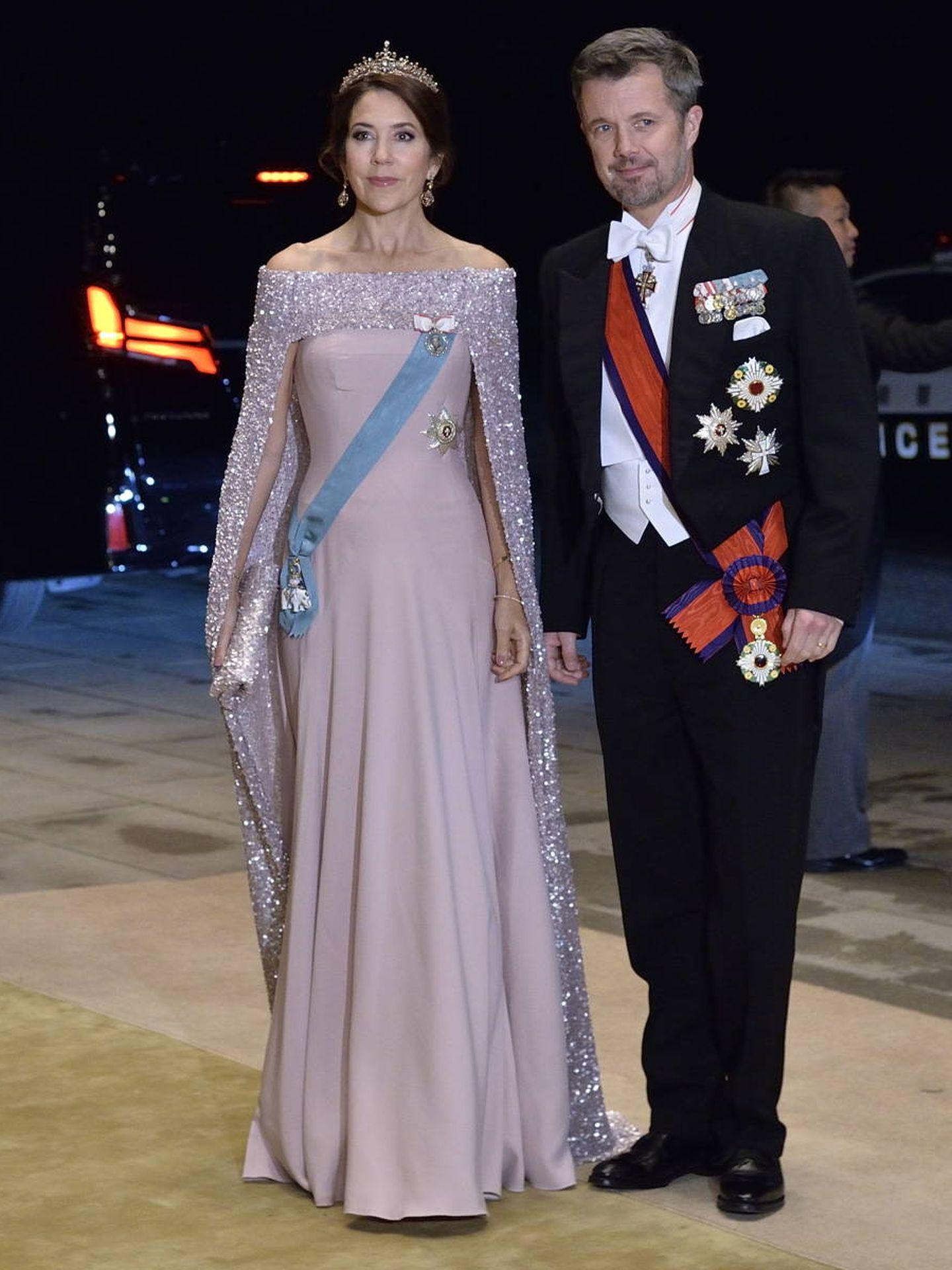 Federico y Mary, en Japón. (EFE)