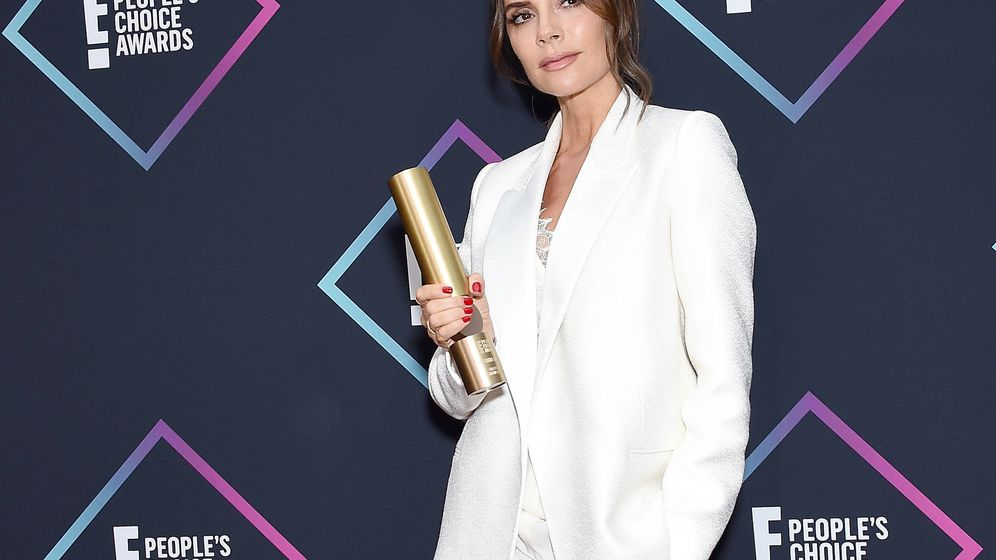 Foto: Victoria Beckham en los People's Choice Awards el pasado noviembre. (Getty)