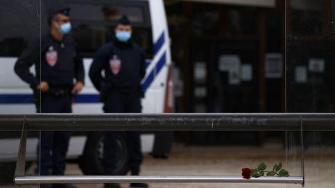 Once detenidos por la decapitación de un profesor que mostró imágenes de Mahoma