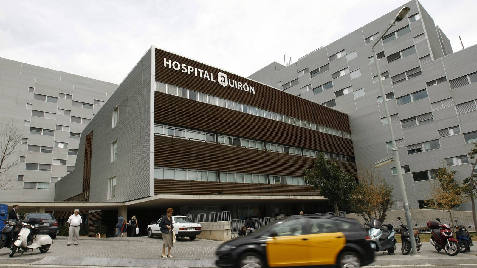 Resultat d'imatges de hospital quiron abrcelona