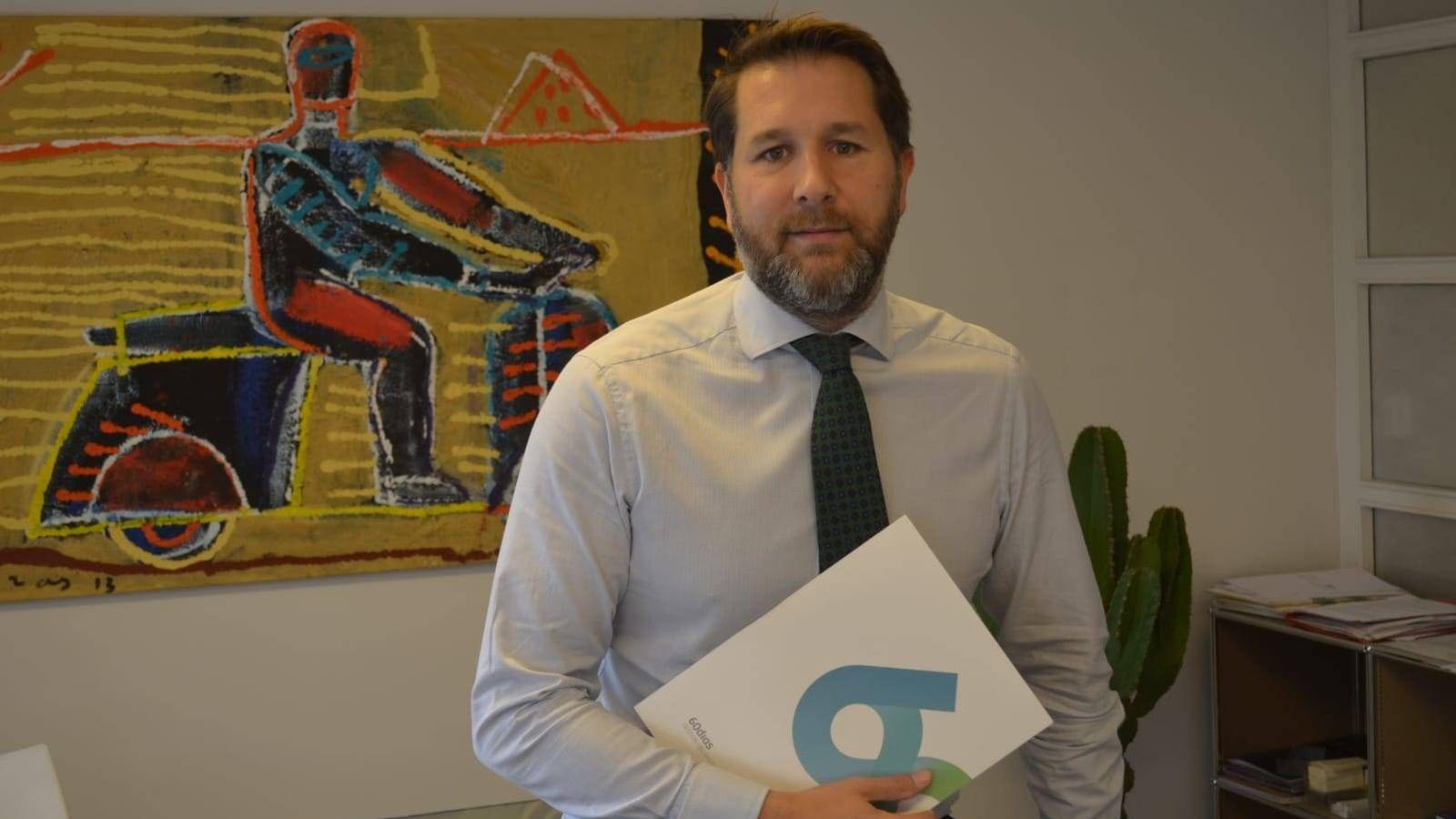 Foto: Ramón Talón, director general de la empresa. (EC)